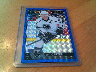 2016-17 Ud Opc O-Pee-Chee Platinum Royal Blue Cubes Jeff Carter #91