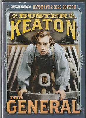"""the General"" Buster Keaton / Kino Ultimate 2 Disc Edition Dvd"