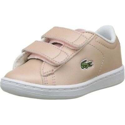 Lacoste Carnaby Evo 317 6 Light Pink Synthetic Baby Trainers