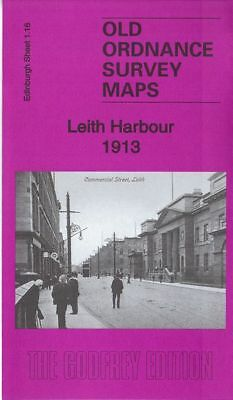 Old Ordnance Survey Map Leith Harbour 193 Summerside Street Salamander Street