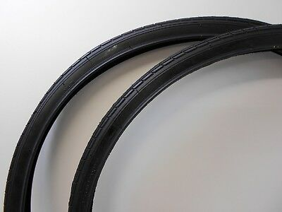 """26"""" x 1-3/8""""  (37-590) BLACK Traditional Roadster / Town Bike / Cycle Tyre"""