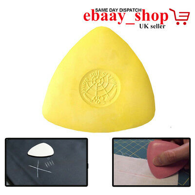 Tailors Chalk Triangle Shape Fabric Dress Marker Tailor DRESSMAKING CLOTH CHALKS