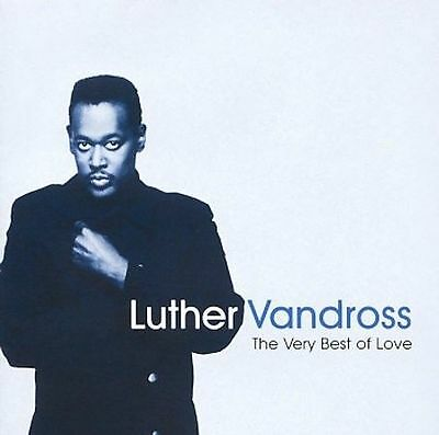 Luther Vandross / The Very Best of Love (CD) Mariah Carey, Dionne Warwick  GREAT