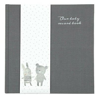 Mamas Papas Baby Record Book Heritage Grey/White Memories Baby Growth Fast PP