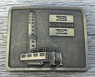 Bucyrus Erie Mining Equipment Company Vintage Belt Buckle