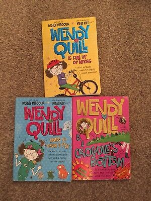 3 Wendy Quill Books