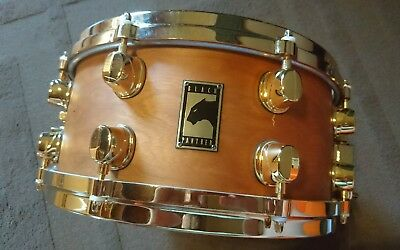Mapex Black Panther Snare 13 Zoll Maple Ahorn Cherry Kirsche Gold Hardware