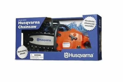 Husqvarna Battery Operated Toy Chain Saw or Chainsaw; Battery Operated; Orange