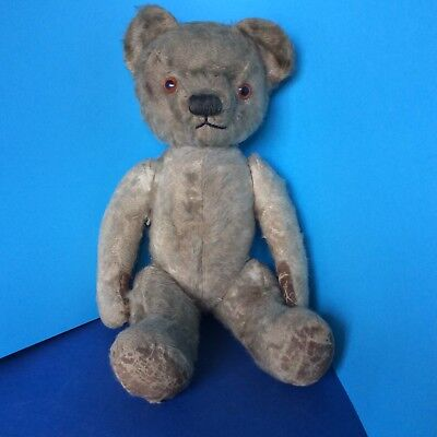 A Rare Early Vintage Chad Valley Straw Filled TEDDY Bear