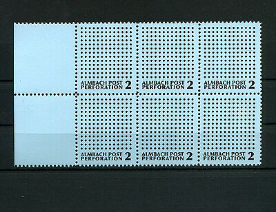 F9N ARTISTAMPS ALMBACH POST PERFORATION 2 Andreas Kuntner Poster Stamp