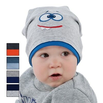 Spring children hat for little boys Face size 48, 50, 52, 12 months - 3 years