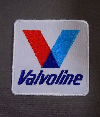VALVOLINE  Embroidered Iron On Uniform-Jacket Patch 2 1/2""