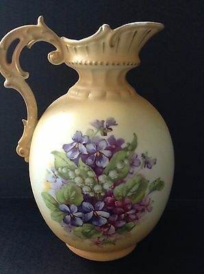 Ceramic Vintage Decorative Pitcher Made in Austria