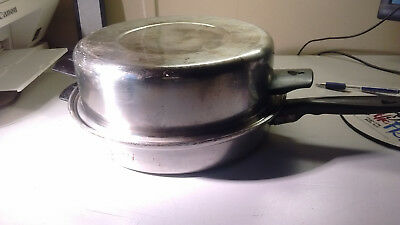 "Vollrath Waterless Stainless Steel 10"" Skillet Saute pan With Dome Lid"