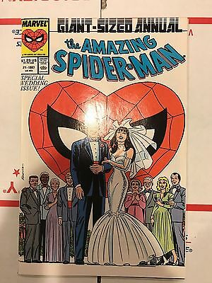 The Amazing Spider-Man Annual #21 A (1987, Marvel) Higher Grade! Wedding Issue!