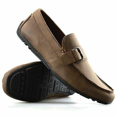 Mens New Slip On Boat Deck Casual Mocassin Designer Loafers Driving Shoes Size