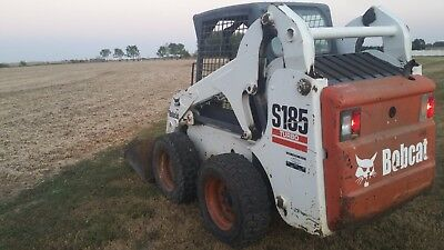 Bobcat S185 Skid Steer Skidsteer Low Hours Switchable Hand Controls