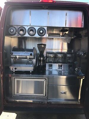 Coffee and Smoothie Van - Fully Fitted Out - Ready to make money