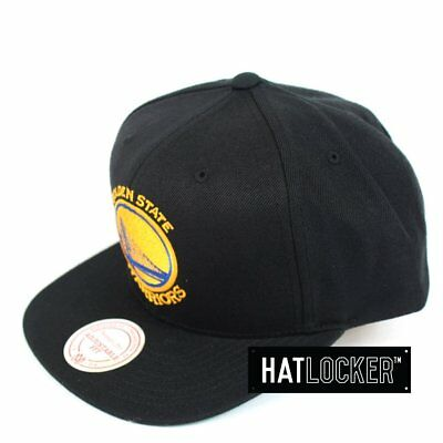 Mitchell & Ness - Golden State Warriors Wool Solid Snapback