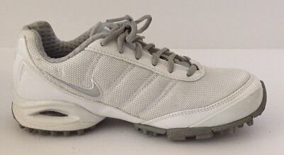Nike Speedlax Women's Lacrosse Cleats Size 6 White Excellent Condition