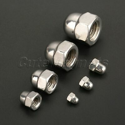 Machines Parts Metric Hex Domed Nut Acorn Cap Nuts M3 M4 M5 M6 M8 M10 M12 10pcs