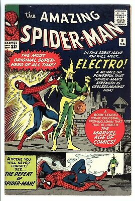 Amazing Spider-Man #9 Vol 1 Very High Grade 1st Appearance of Electro