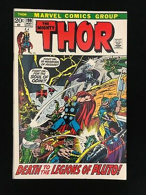 Thor #199 Vf High Grade! Marvel Comics Bronze Age Mighty Thor!