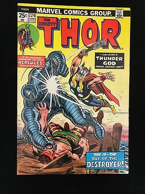 Thor #224 Fn Marvel Comics Bronze Age Mighty Thor!