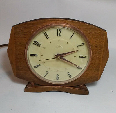 Vintage Metamec Electric Mantle Clock Retro