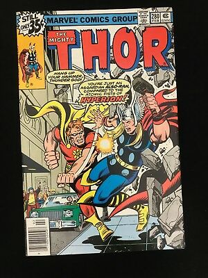 Thor #280 Vf High Grade! Marvel Comics Bronze Age Thor!