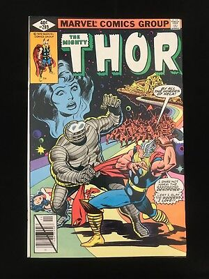 Thor #289 Vf High Grade! Marvel Comics Bronze Age Thor!