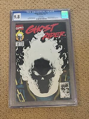 Ghost Rider 15 CGC 9.8 White Pages (Glow-in-the-Dark Cover)