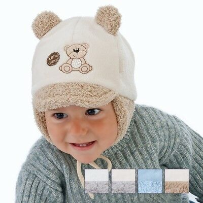 Winter baby hat children warm hat little boy Little Bear size 38-44, 2-9 months