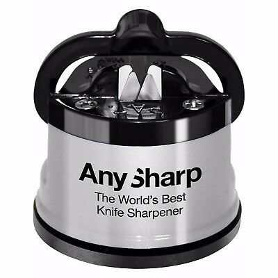 ***** Anysharp ***** Silver ***** Knife Sharpener ***** Brand New Item *********