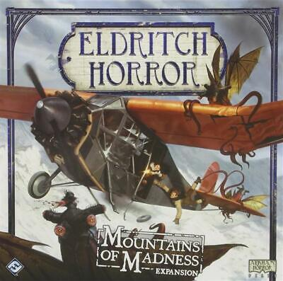 Eldritch Horror: Mountains of Madness Expansion - Board Game - Brettspiel - Engl