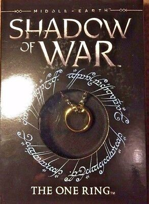Middle Earth Shadow Of War The One Ring - Official - The Noble Collection