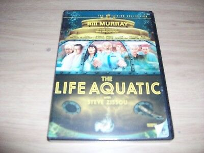 Criterion Collection Comedy: The Life Aquatic! Brand New & Factory Sealed!