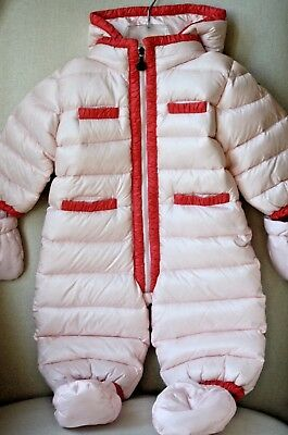 Moncler Baby Quilted Snow Suit Jacket 9-12 Months