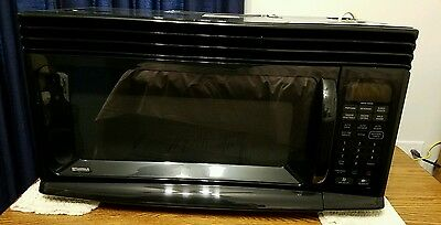 kenmore quick touch microwave. kenmore above range microwave quick touch