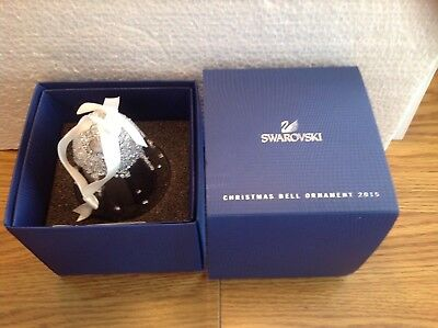 Swarovski - 2015 A.E. Christmas Bell Ornament (5136362)  - BNIB with Certicate