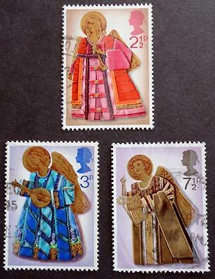 Great Britain 1972 'Christmas' SG913/915 Used Set