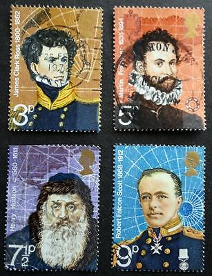 Great Britain 1972 'British Polar Explorers' SG897/900 Used Set