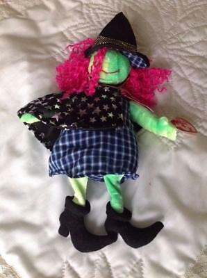 Ty Beanie Baby SCARY the Witch Born Oct. 25, 2000