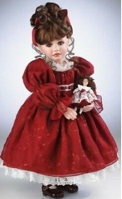 """MARIE OSMOND """"Young Love"""" 27"""" Standing Porcelain Doll w/ Stand! NEW IN BOX!"""