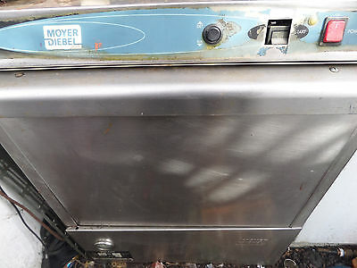 Moyer Diebel 201H commercial, dishwasher said to be working, no racks, as is
