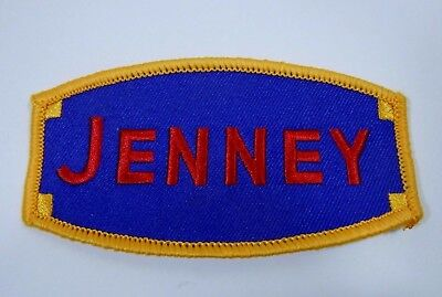 JENNY GAS Embroidered Iron On Uniform-Jacket Patch 4""
