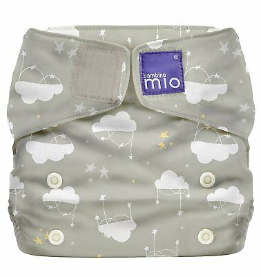 Cloud Nine BNIP Bambino Mio Miosolo all-in-one reusable cloth nappies