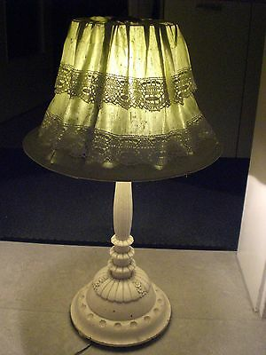Antike Stehlampe Tischlampe Art Deco Jugendstil 30er 40er table lamp shabby chic