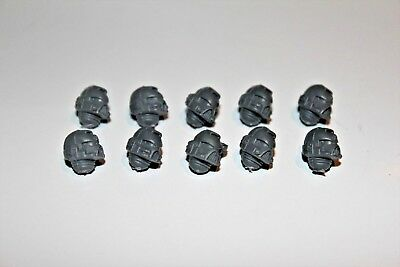 Space Marine Tactical Marine Random Head Bits x10 (BN3-5)