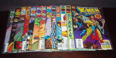 X-Men Adventures Complete 1-13 Vf+/nm Season 3 (1995 Series) Lot Set Run Marvel